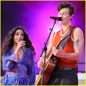 Shawn Mendes Performs with Girlfriend Camila Cabello at Global Citizen Live 2021!