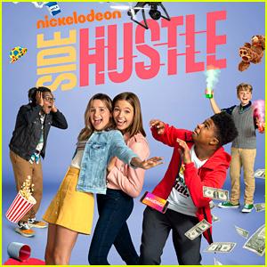 'Side Hustle' Gets Renewed For Season 2 at Nickelodeon, Debuts First Look - Watch!