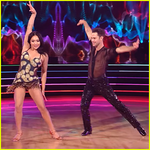 Suni Lee Flips On Week 2 of 'Dancing With The Stars' With Sasha Farber - Watch Now!