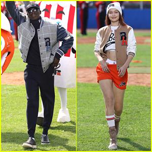 TikTok Star Khaby Lame Makes Runway Debut In Boss Milan Fashion Week Show with Gigi Hadid