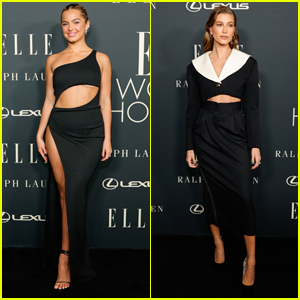Addison Rae Joins Hailey Bieber & More Stars at Elle's Women in Hollywood Event!
