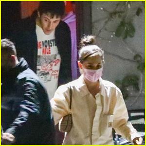 Ariana Grande & Husband Dalton Gomez Spend Their Date Night at Dave Chappelle's Show in LA!