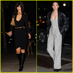 Bella Hadid is Enjoying a Night Out on the Town for Her Birthday with Sister Gigi!