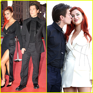 Bella Thorne & Benjamin Mascolo Premiere New Movie 'Time Is Up' In Italy!