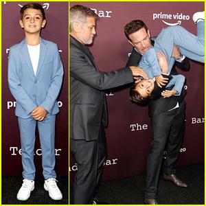 Daniel Ranieri Gets Tossed Around at 'The Tender Bar' Premiere By Ben Affleck
