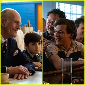 Daniel Ranieri & Tye Sheridan Star as JR Moehringer In 'The Tender Bar' Trailer