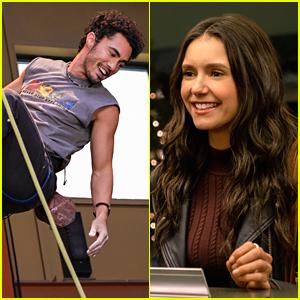 Darren Barnet & Nina Dobrev Star In 'Love Hard' First Look Photos!