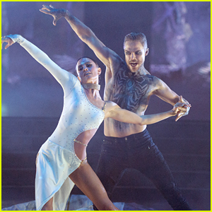 Derek Hough & Hayley Erbert Dance a Tango On 'Dancing With The Stars' Horror Night - Watch Now!