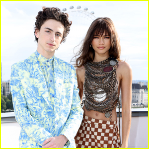 Timothee Chalamet & Zendaya Pose Together for 'Dune' Photocall in London!