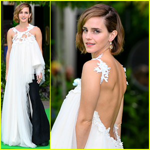 Emma Watson Makes Rare Red Carpet Appearance at Earthshot Prize 2021