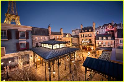France Pavilion at Walt Disney World