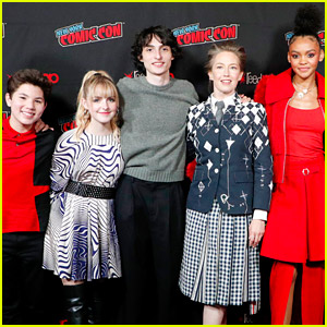 Finn Wolfhard & Mckenna Grace Bring a Surprise Screening of 'Ghostbusters: Afterlife' to NYCC!