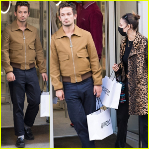 'Gossip Girl' Star Eli Brown Gets Some Shopping Done in Paris!