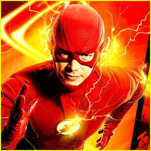 Grant Gustin Debuts New The Flash Season 8 Costume With Gold Boots at DC FanDome (Photos)