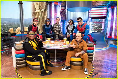Jace Norman and Danger Force cast in HQ