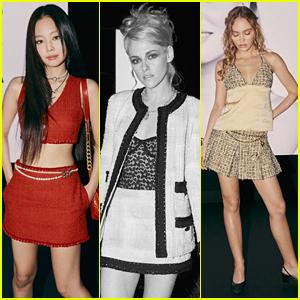 Jennie, Kristen Stewart & More Sit Front Row at Chanel's Paris Fashion Week Show