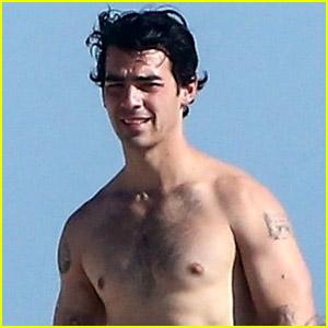Joe Jonas Is Looking So Hot in These New Beach Pics!