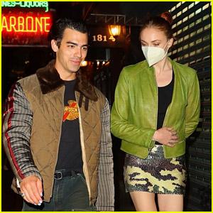 Joe Jonas Enjoys Night Off from Touring with Wife Sophie Turner! (Photos)