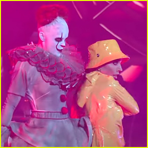 JoJo Siwa Gets Creepy as Pennywise for 'Dancing With The Stars' With Jenna Johnson - Watch Now!