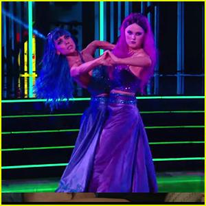 JoJo Siwa & Jenna Johnson Channel 'Descendants' For 'Dancing With The Stars' Disney Week: Villains Night - Watch Now!