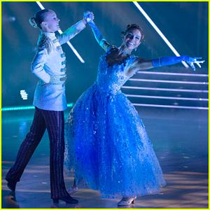 JoJo Siwa Turns Into Prince Charming For Dancing With The Stars' Disney Week: Heroes Night - Watch Now!