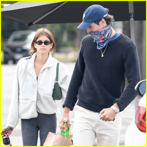 Kaia Gerber & Jacob Elordi Spend the Day Running Errands Together in LA