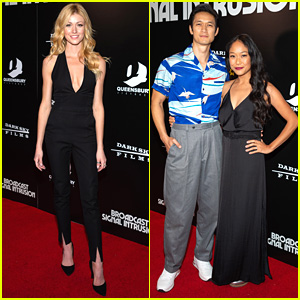 Katherine McNamara & Harry Shum Jr Have 'Shadowhunters' Reunion at Movie Premiere!