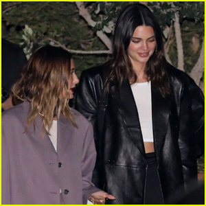 Kendall Jenner Grabs Sushi for Dinner with BFF Hailey Bieber