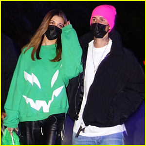 Hailey & Justin Bieber Meet Up With Kendall Jenner For Lakers & Suns Basketball Game