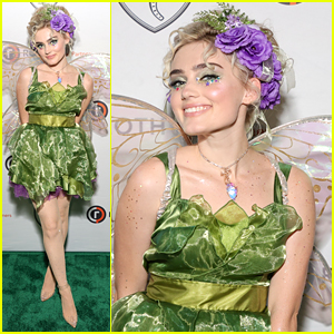 Meg Donnelly Dresses as a Fairy For Elephant Cooperation's Anti Gala