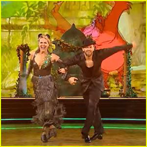 Melora Hardin & Artem Chigvintsev Earn Top Score on Dancing With The Stars' Disney Week: Heroes Night - Watch!