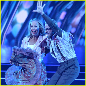 Melora Hardin Brings The Energy For 'Dancing With The Stars' Horror Night with Artem Chigvintsev - Watch Now!
