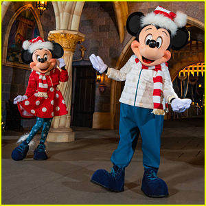 Mickey & Minnie Mouse Debut New Holiday 2021 Outfits & New Holiday Merch