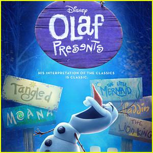 Frozen's Olaf Retells Disney Movies In 'Olaf Presents' Trailer - Watch Now!