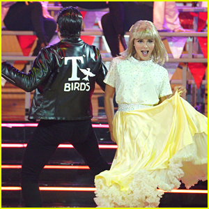 Olivia Jade Turns Into Sandy For 'Dancing With The Stars' 'Grease' Night - Watch Now