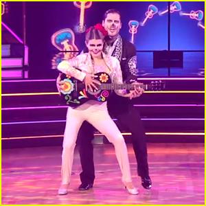 Olivia Jade & Val Chmerkovskiy Dance To 'Coco' On Dancing With The Stars' Disney Week: Villains Night - Watch!