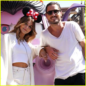Olivia Jade & Val Chmerkovskiy Have Fun at Disneyland Before 'DWTS' Disney Night!