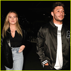 Perrie Edwards & Alex Oxlade-Chamberalin Have Parents Night Out!