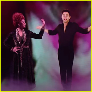 Suni Lee Puts a Spell on Sasha Farber For 'Dancing With The Stars' Disney Week: Villains Night - Watch Now!