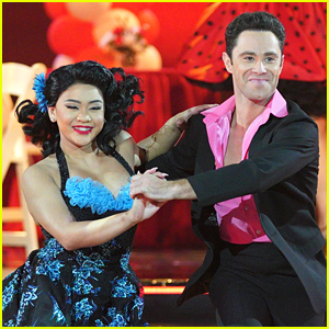 Suni Lee & Sasha Farber Do The Hand Jive On 'Dancing With The Stars' 'Grease' Night - Watch Now!