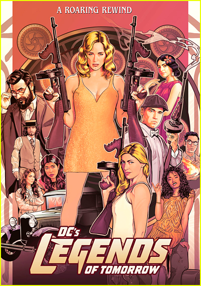 DC's Legends of Tomorrow Series Poster