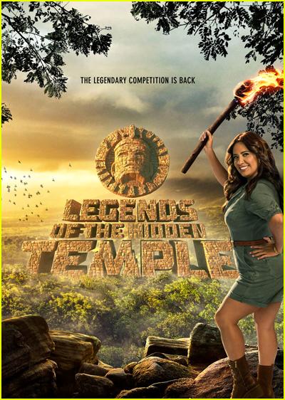 Legends of the Hidden Temple Series Poster