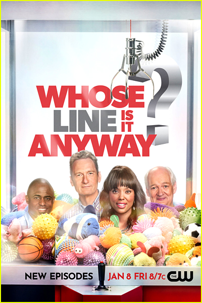Whose Line Is It Anyway? Series Poster
