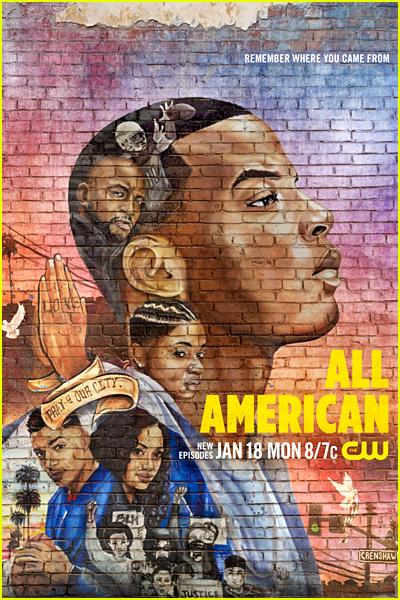 All American Series Poster