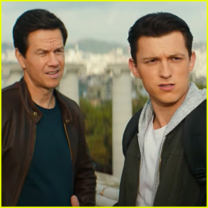 Tom Holland & Mark Wahlberg Star In 'Uncharted' Trailer - Watch Now!