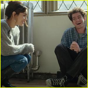 Vanessa Hudgens & Andrew Garfield Star In 'tick, tick...BOOM!' Trailer & New Photos