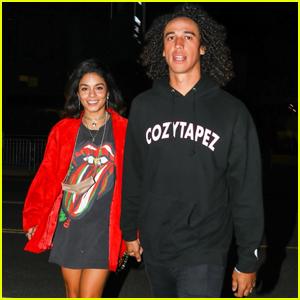 Vanessa Hudgens & Boyfriend Cole Tucker Enjoy a Night at The Rolling Stones Concert in L.A.