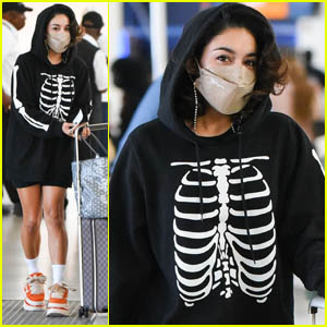 Vanessa Hudgens Arrives at JFK Airport After Making an Appearance on 'The Today Show'